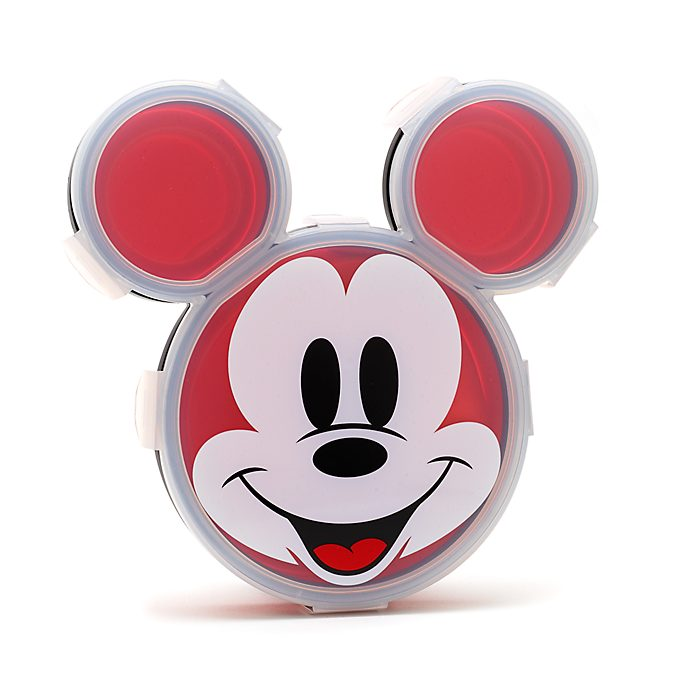 Disney Store Mickey Mouse Plate with Lid