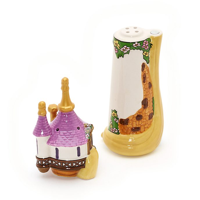Tangled Salt and Pepper Shakers