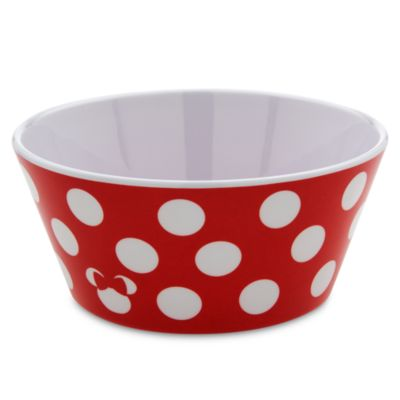 Minnie Mouse Melamine Bowl