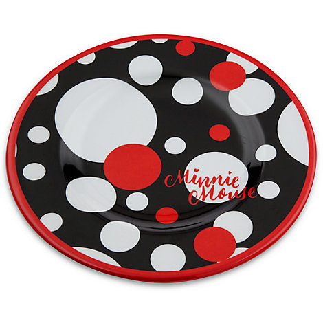 Minnie Mouse Dessert Plate