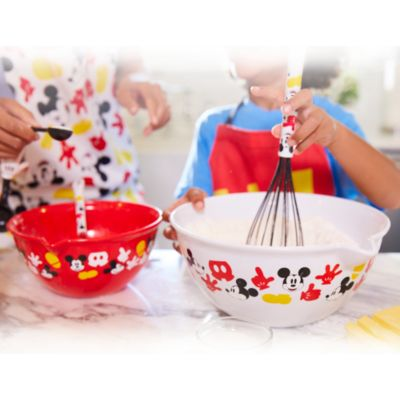 Bols et cuillères de cuisine Mickey Mouse