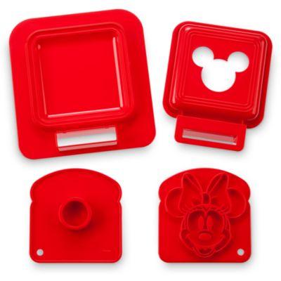 Emporte-pièce à sandwich avec tampons Mickey et Minnie