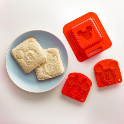 Set taglia crosta e stampi per sandwich Topolino e Minni