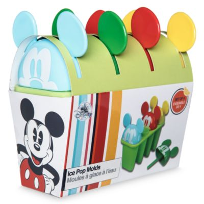 Mickey Mouse Summer Fun Ice Lolly Moulds, Set of 4