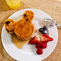 Mickey Mouse Silicone Breakfast Moulds