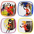 Incredibles 2 Plates, Set of 4