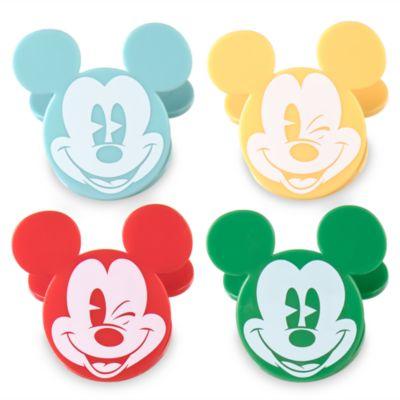 Pinzas para bolsas de conservas Summer Fun Mickey Mouse, set de 4