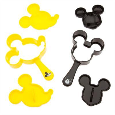 Lot de moules alimentaires Mickey Mouse