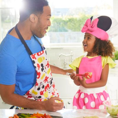 Minnie Mouse Apron and Chef Hat Set For Kids