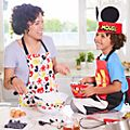 Disney Store Mickey Mouse Apron and Chef Hat Set For Kids