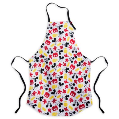 Mickey Mouse Apron and Oven Mitts Set For Adults