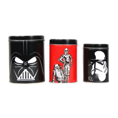 Contenitori Star Wars, set di 3