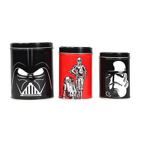Star Wars beholdere, sæt med 3 stk.
