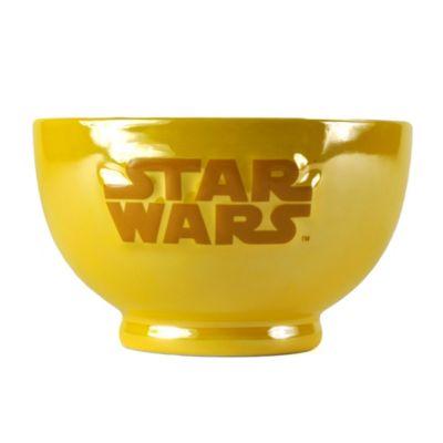 Bol metálico con relieves de C-3PO, Star Wars