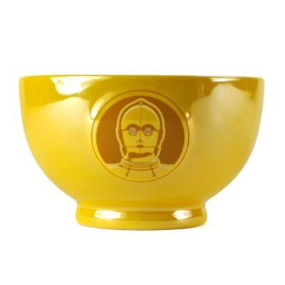 Ciotola metallizzata con rilievo C-3PO, Star Wars