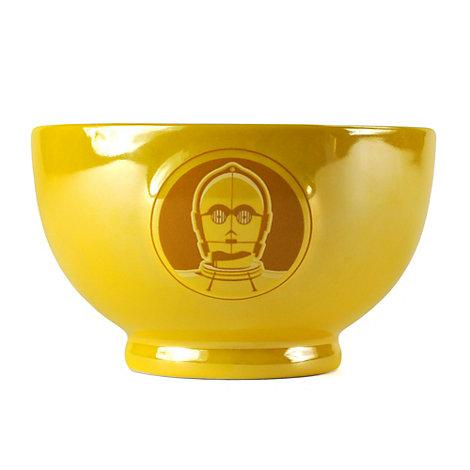 C-3PO Metallic Embossed Bowl, Star Wars