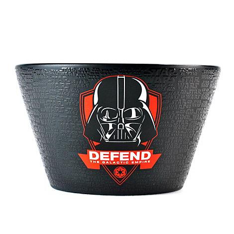 Bol con relieves de Darth Vader, Star Wars
