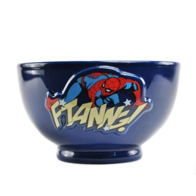 Spider-Man Embossed Bowl, Marvel