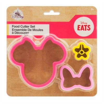 Set de cortadores de cocina de Minnie Mouse