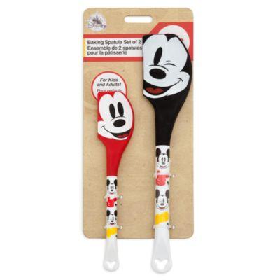 Disney Store Mickey Mouse Spatulas, Set of 2