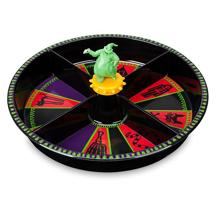 Disney Store Oogie Boogie Lazy Susan, The Nightmare Before Christmas