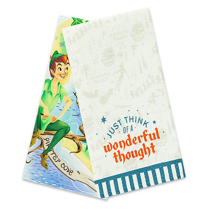 Walt Disney World Peter Pan Tea Towels, Set of 2