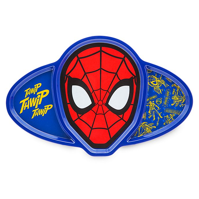 Disney Store Spider-Man Divided Plate