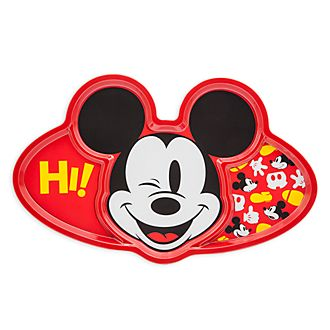 Disney Store Mickey Mouse Divided Plate