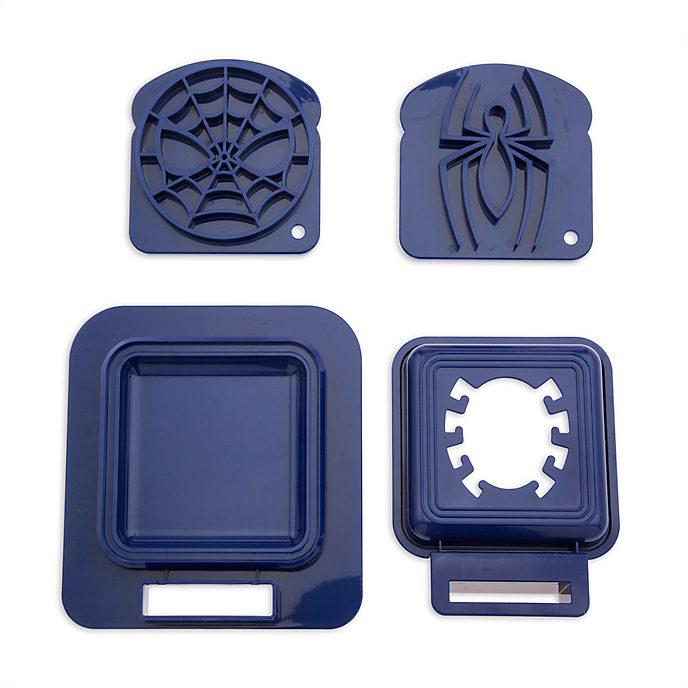 Disney Store Spider-Man Sandwich Stamp and Crust Cutter Set