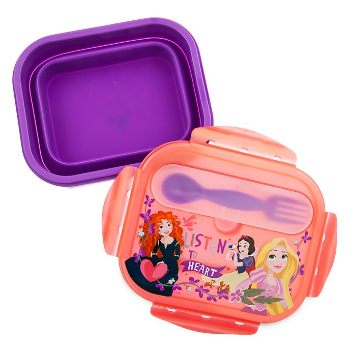 Juego de fiambrera y cubiertos princesas Disney, Disney Store