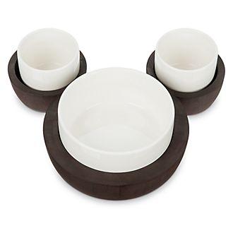 Set servizio Topolino Fall Fun Disney Store, 3 tazze con vassoio