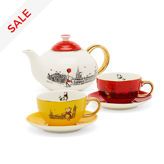 Disney Store Winnie the Pooh Tea Set, Christopher Robin
