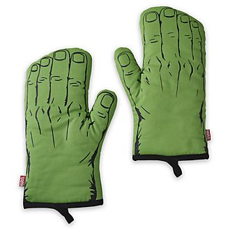 Disney Store Hulk Disney Eats Oven Mitts, Set of 2