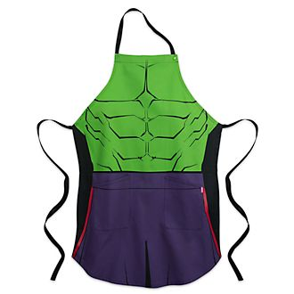 Disney Store Tablier Hulk pour adultes, collection Disney Eats