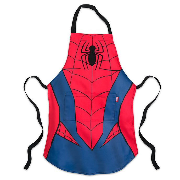 Disney Store Tablier Spider-Man pour enfants, collection Disney Eats