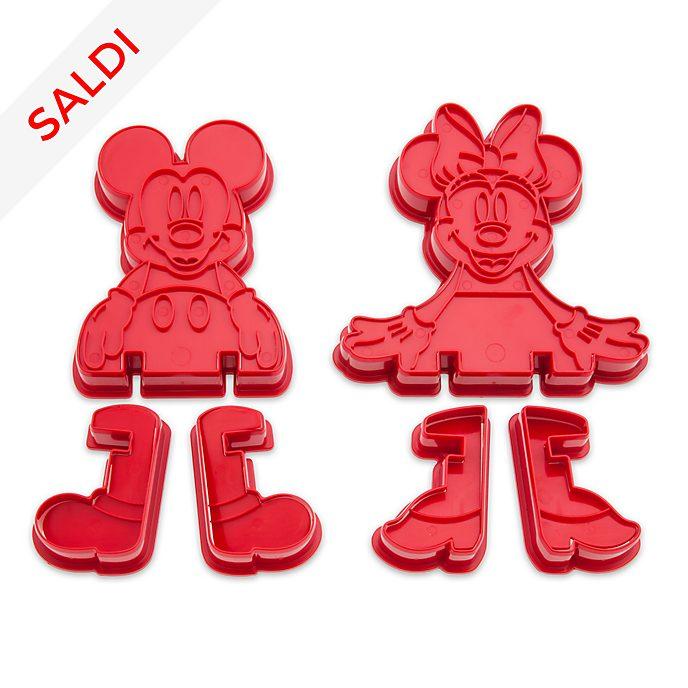 Set formine 3D Topolino e Minni Disney Store