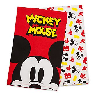 Disney Store Lot de 2 torchons Mickey Mouse