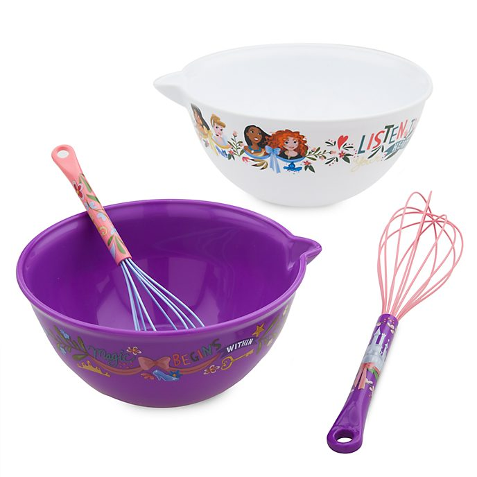 Disney Store Disney Princess Mixing Bowl and Whisk Set
