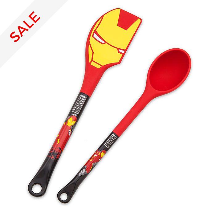 Disney Store - Iron Man - Set mit Spatel und Löffel