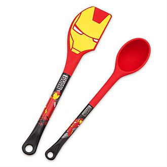 Disney Store Iron Man Spatula and Spoon Set