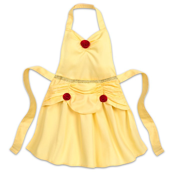Disney Store Belle Disney Eats Apron For Kids, Beauty And The Beast