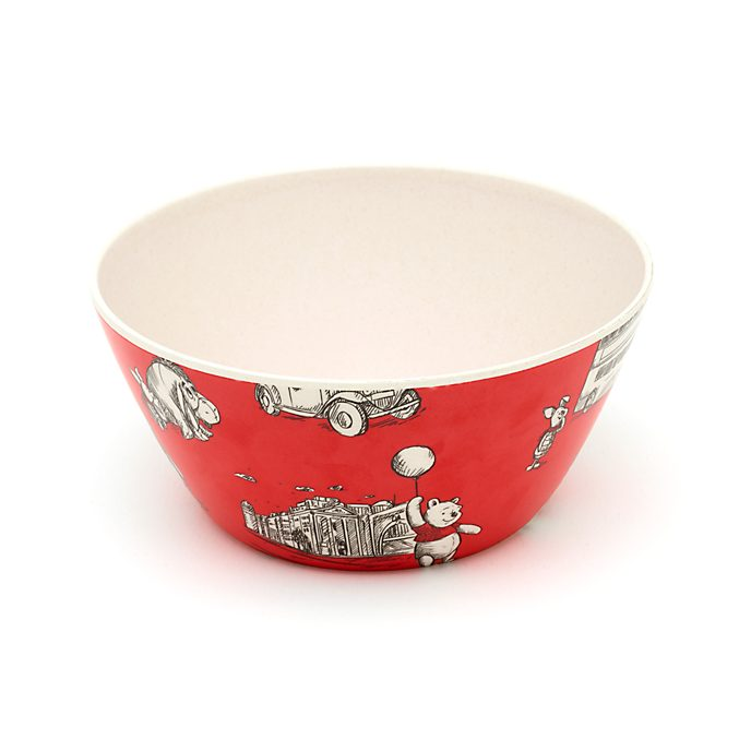 Disney Store Winnie the Pooh and Friends Bowl, Christopher Robin