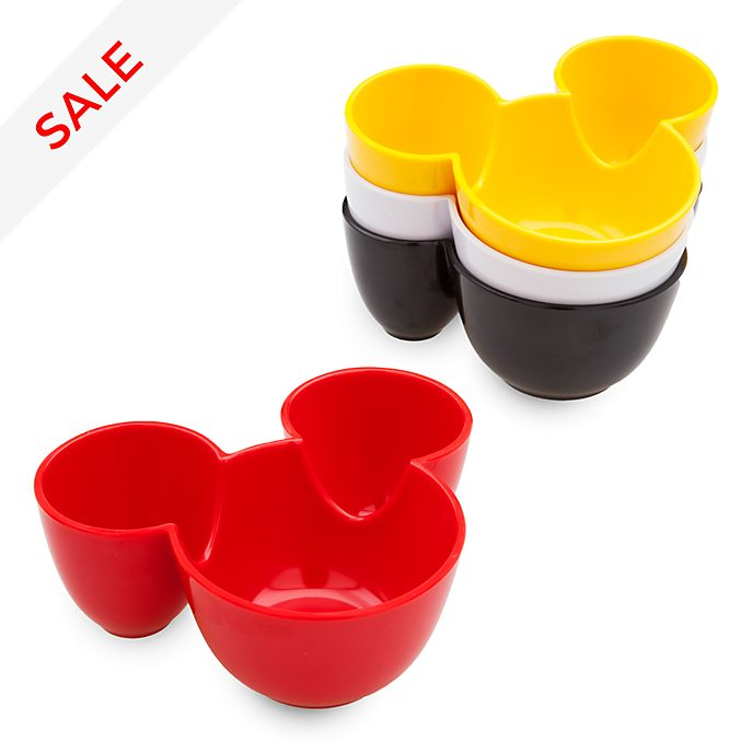 Disney Store Mickey Mouse Disney Eats Prep Bowls, Set of 4