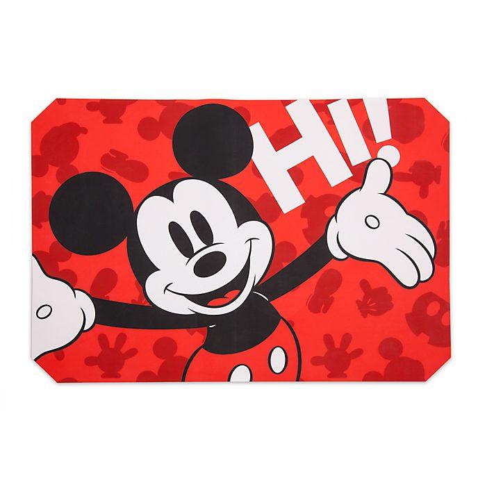 Disney Store Tapis de cuisson Mickey Mouse antiadhésif en silicone, collection Disney Eats