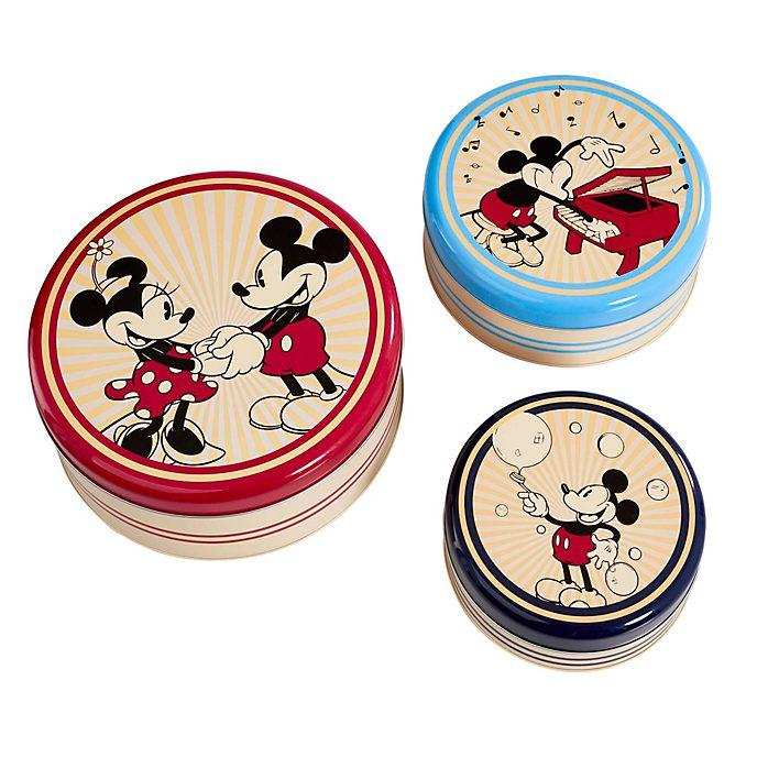 Set de recipientes de cocina Mickey y Minnie retro, Funko