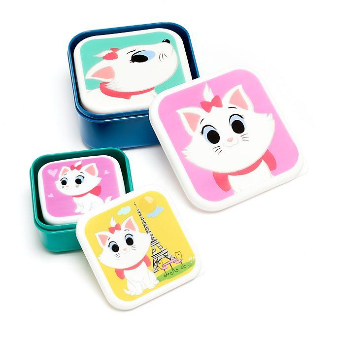 Disney Store Marie Furrytale Friends Snack Box Set