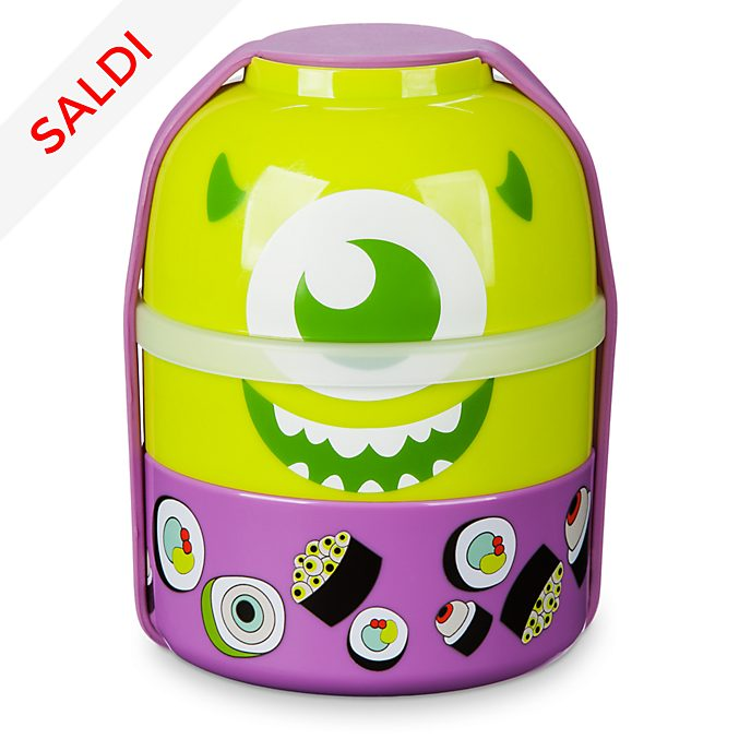 Set scatola bento Monsters & Co.