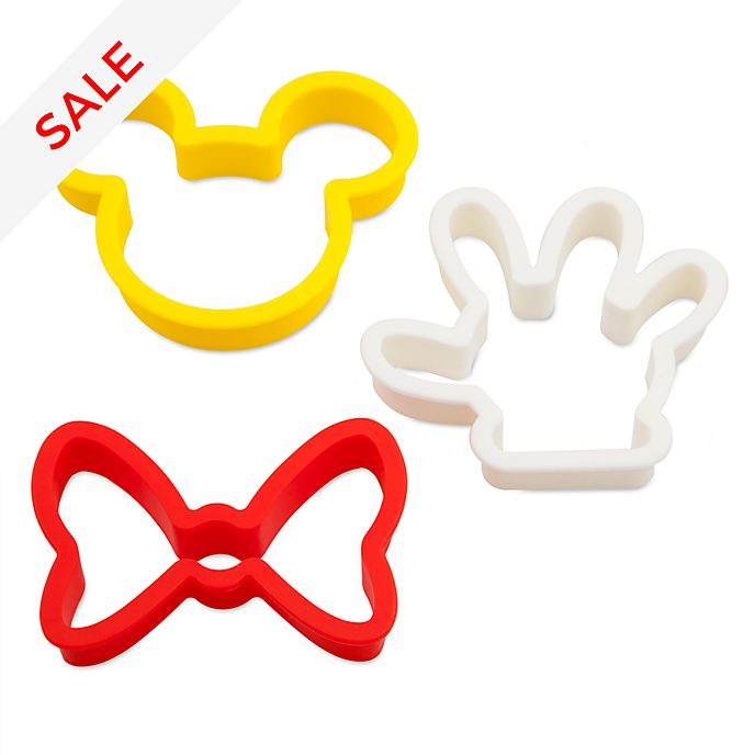 Disney Store Mickey and Minnie Disney Eats Breakfast Moulds
