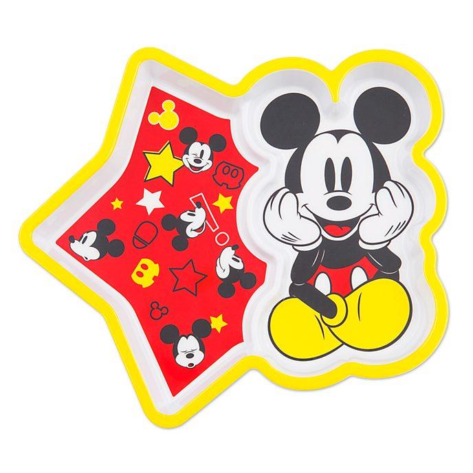 Disney Store Assiette en mélamine Mickey Mouse, collection Disney Eats
