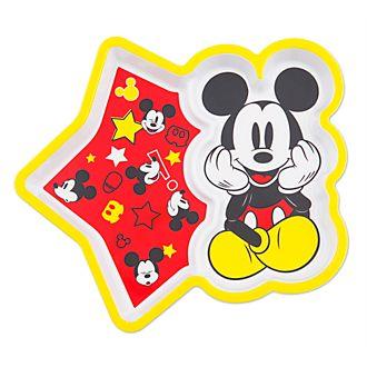 Plato de melamina Mickey Mouse, Disney Eats, Disney Store